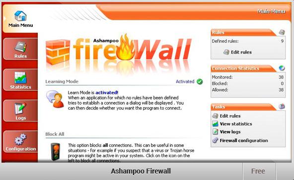 Ashampoo-Firewall