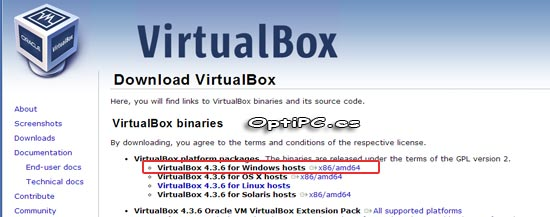 Descargar VirtualBox