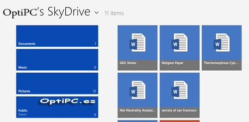 skydrive-menu